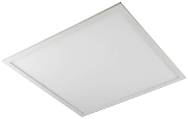 panneau led 60 x 60 cm blanc brico d p t. Black Bedroom Furniture Sets. Home Design Ideas