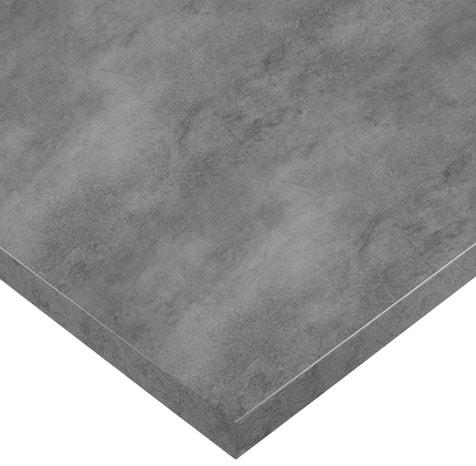 plan de travail stratifi imitation b ton cir l 3 m x p 63 cm x p 38 mm brico d p t. Black Bedroom Furniture Sets. Home Design Ideas