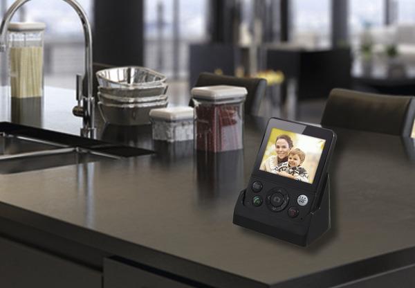 vidéo couleur sans fil avec caméra de vision nocturne d'une portée