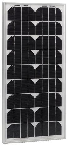 panneau solaire pour motorisation de portail de jardin h 62 cm l 29 cm ep 25 mm 12 v ou 24. Black Bedroom Furniture Sets. Home Design Ideas