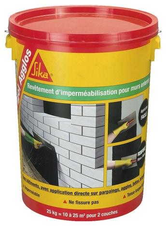 Enduit Impermeable Pour Fondations De Type Industriel Ou Agricole 25 Litres Brico Depot
