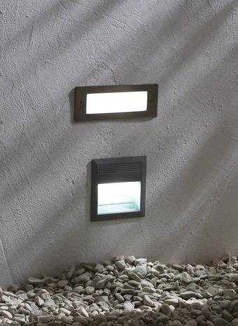 applique 18 led encastrer brico d p t. Black Bedroom Furniture Sets. Home Design Ideas