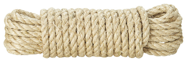 Cordage Sisal Naturel 10m 8mm Brico Depot