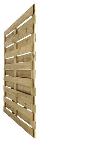 panneau bois brise vent en pin h 1 80 m x l 1 80 m x p 4 5 cm brico d p t. Black Bedroom Furniture Sets. Home Design Ideas