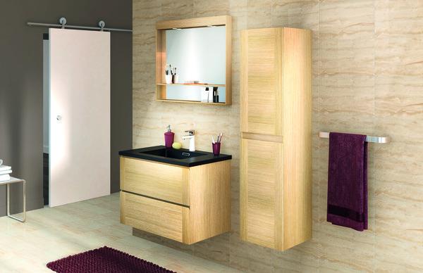 meuble origin 80 cm le plan vasque brico d p t. Black Bedroom Furniture Sets. Home Design Ideas