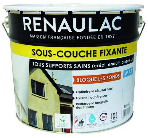 Sous Couche Fixante Opacifiante Acrylique Pour Facades Murs Et Maconneries Exterieures 10 L Brico Depot