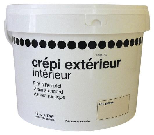 Crepi Exterieur Interieur Ton Pierre 15 Kg Brico Depot