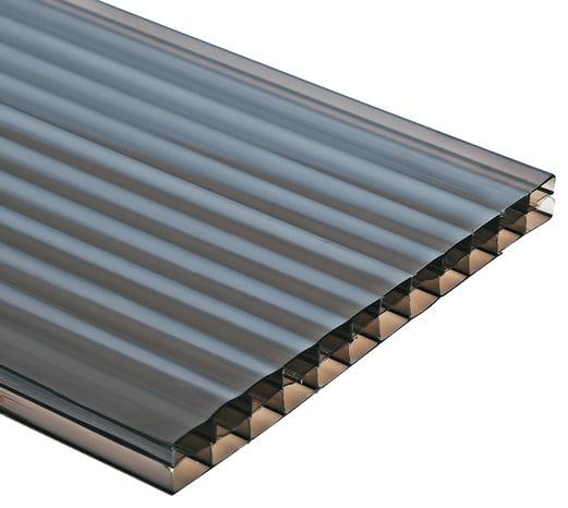 Plaque Polycarbonate Bronze 3m X 1m Brico Depot