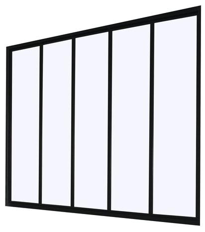 verri re industrial 5 panneaux 5 panneaux h 105 x l 135 cm brico d p t. Black Bedroom Furniture Sets. Home Design Ideas