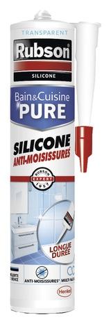 Joint Silicone Rubson 280ml Noir Noir Brico Depot