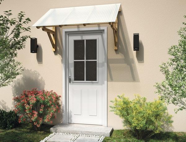 marquise en bois l 139 cm brico d p t. Black Bedroom Furniture Sets. Home Design Ideas