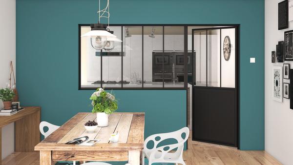 bloc porte d 39 atelier industrial l 83 cm droite brico d p t. Black Bedroom Furniture Sets. Home Design Ideas
