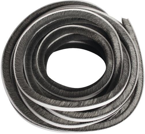 joint adh sif velours gris pour portes coulissantes l 6 m x l 5 mm brico d p t. Black Bedroom Furniture Sets. Home Design Ideas