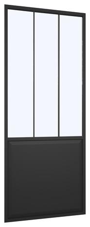 Porte Coulissante Datelier Industrial Larg 83 Cm