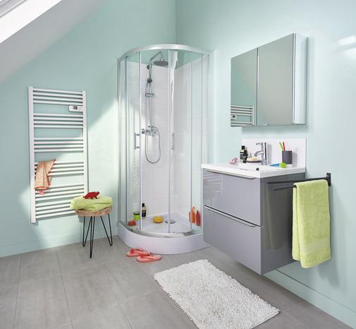 acc s d 39 angle circulaire onega h 190 x l 80 cm verre transparent larg ext de 77 5 80 cm. Black Bedroom Furniture Sets. Home Design Ideas