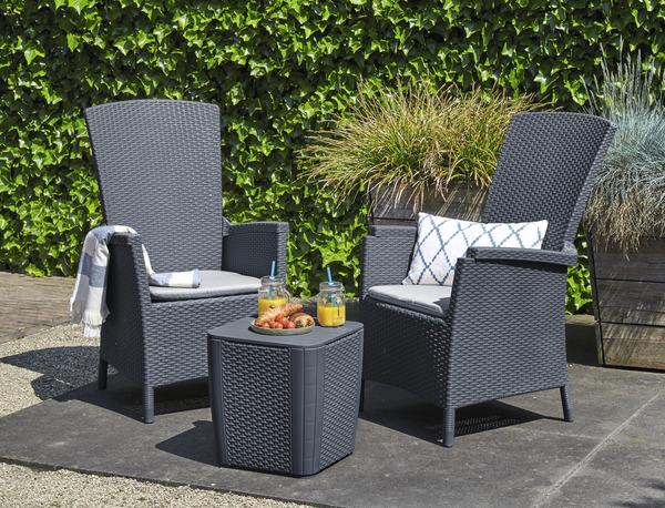 compl ment de salon de jardin brico d p t. Black Bedroom Furniture Sets. Home Design Ideas