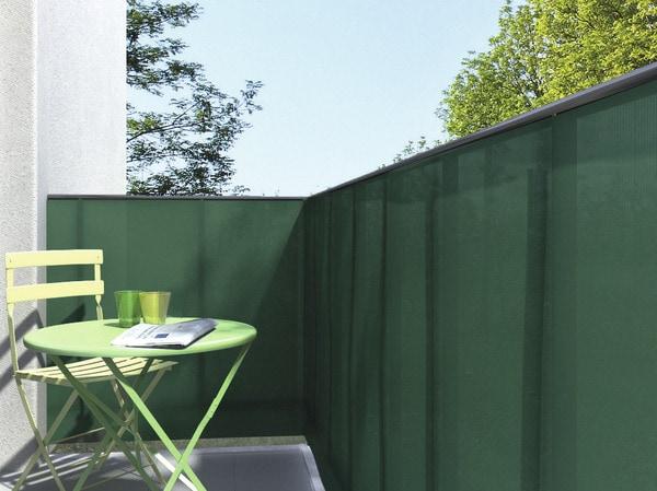 brise vue vert h 1 x l 3 m brico d p t. Black Bedroom Furniture Sets. Home Design Ideas