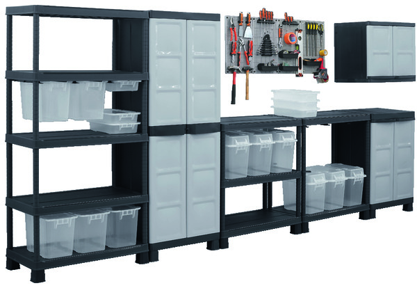caisse rangement plastique brico depot. Black Bedroom Furniture Sets. Home Design Ideas
