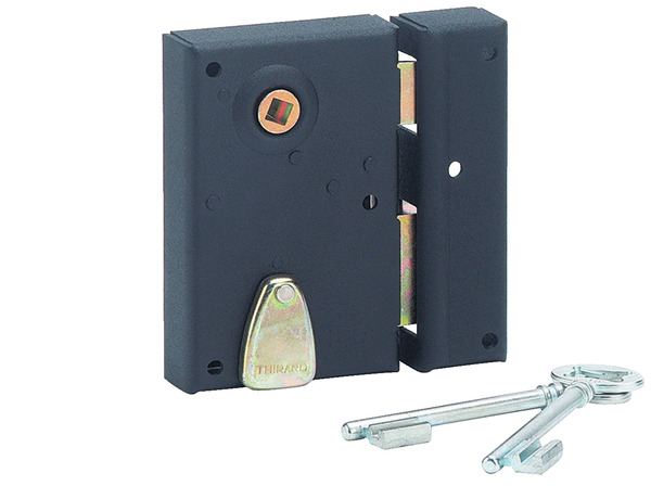 serrure applique verticale p ne dormant 1 2 tour pour porte int rieure droite 70x110 mm. Black Bedroom Furniture Sets. Home Design Ideas