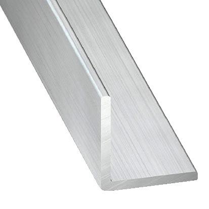 Cornière En Aluminium Brut L 2 M L 30 Mm H 30 Mm Ep 15 Mm