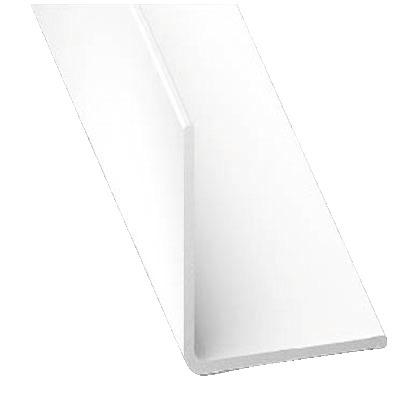 corni re en pvc blanc l 2 50 m l 15 mm h 15 mm brico d p t. Black Bedroom Furniture Sets. Home Design Ideas