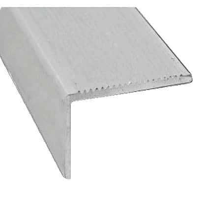 Nez De Marche En Aluminium Brut L 1 M 45x23 Mm Brico Depot
