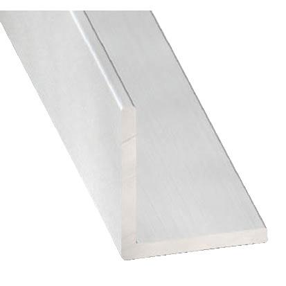 Cornière En Aluminium Anodisé Incolore L 250 M L 20 Mm H 20 Mm Ep 15 Mm