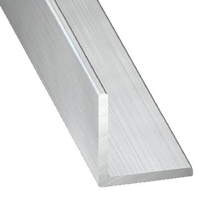 Cornière En Aluminium Brut L 2 50 M L 20 Mm H 20 Mm Ep 1 5 Mm