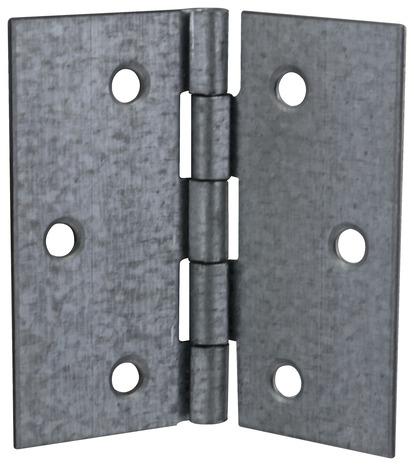 2 charni res en acier zingu 50x50x0 9 mm brico d p t. Black Bedroom Furniture Sets. Home Design Ideas