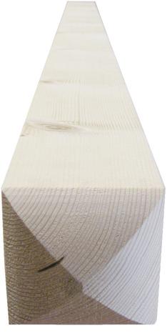 poteau arrondi en bois d 39 pic a s ch 70x70 mm brico d p t. Black Bedroom Furniture Sets. Home Design Ideas