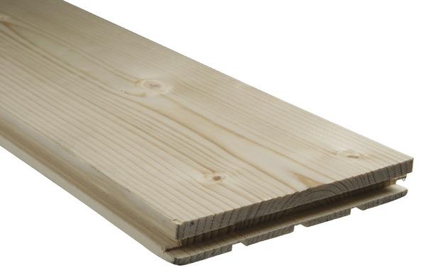 Plancher En Sapin Du Nord Rainure L 2 50 M X L 14 Cm X Ep 20