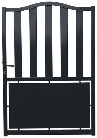 portail aluminium battant josas haut 1 75 m brico d p t. Black Bedroom Furniture Sets. Home Design Ideas