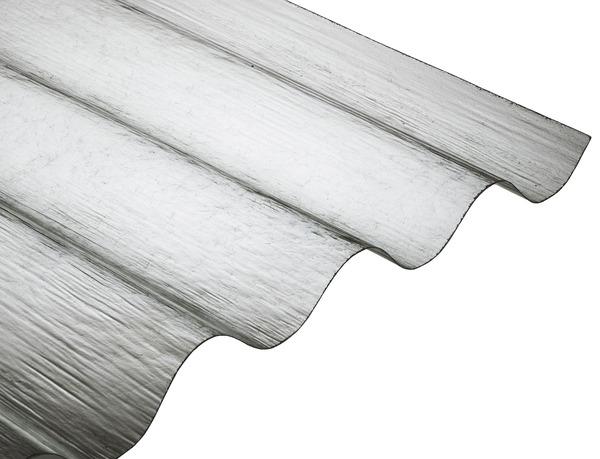 plaque ondul e en polyester 1 52x0 92 m brico d p t. Black Bedroom Furniture Sets. Home Design Ideas
