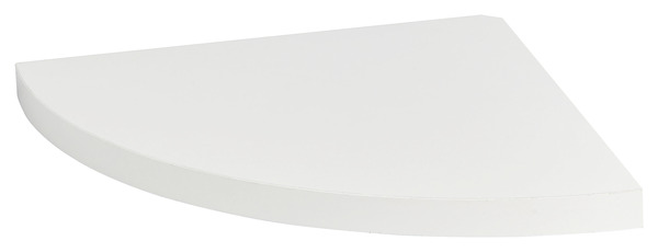 Tablette D Angle Blanche L 25 X P 25 Cm Ep 18 Mm Brico Depot