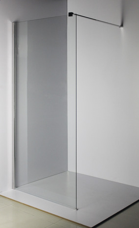 Paroi walk in kroma verre transparent 195x90 cm brico d p t for Paroi douche moretti