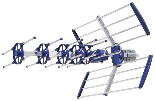 antenne ext rieure pour r ception t l vision num rique terrestre brico d p t. Black Bedroom Furniture Sets. Home Design Ideas