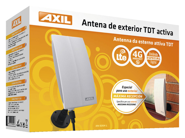 Antenne Interieure Exterieure Pour Reception Television Numerique