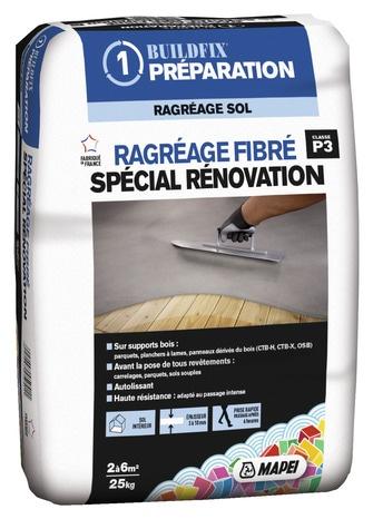 Ragreage Fibre Special Renovation Brico Depot