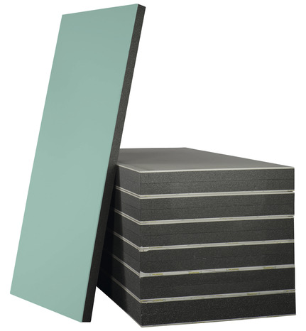 doublage plaque de pl tre hydrofuge et polystyr ne 2 5 x 1. Black Bedroom Furniture Sets. Home Design Ideas