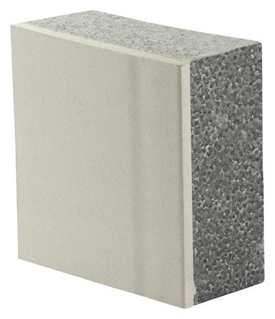 Doublage Plaque De Plâtre Et Polystyrène 2 5 X 1 2 M ép 12 5