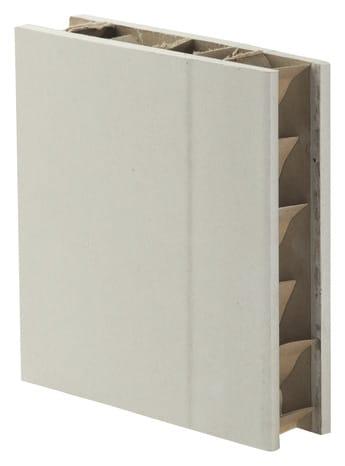 Cloison Alvéolaire En Plaque De Plâtre 2 5 X 1 2 M ép 50 Mm