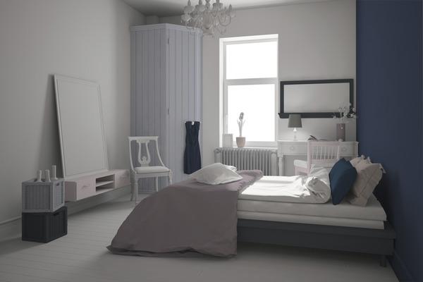peinture blanche satin e pour murs et plafonds 1 l brico d p t. Black Bedroom Furniture Sets. Home Design Ideas