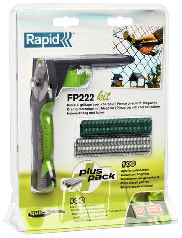 Pince A Grillage Fp222 Avec Chargeur Plus Agrafes Brico Depot