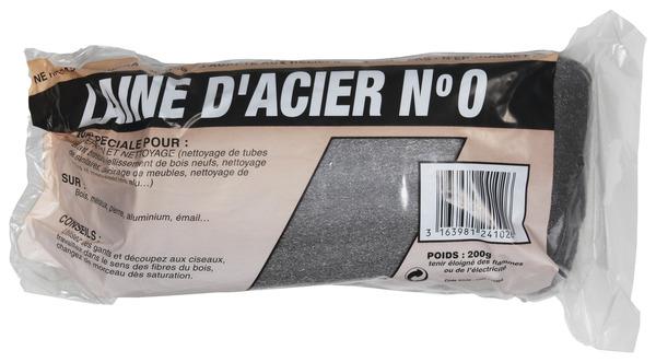 Laine DAcier N  Pour Prparer Et Nettoyer Les Bois Mtaux Alu