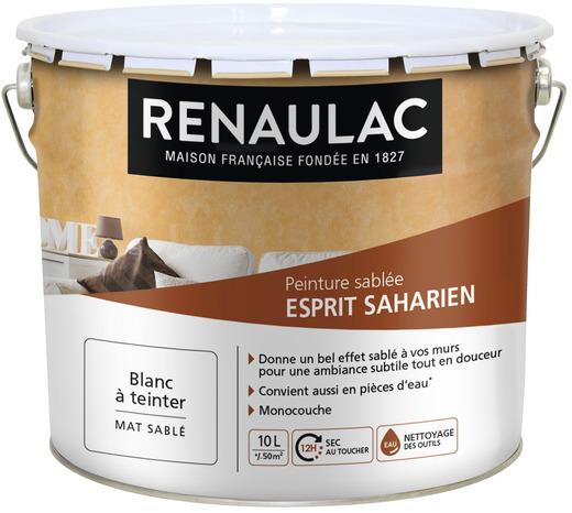 Cire Murale Acrylique  Teinter Satin Pour Enduit Dcoratif Blanc