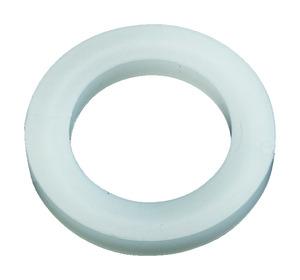lot de 4 rondelles blanches en nylon 14 mm brico d p t. Black Bedroom Furniture Sets. Home Design Ideas