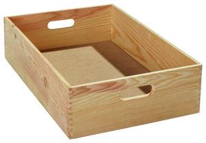 Bac coffre de rangement rangement utilitaire brico d p t - Caisse en bois pour rangement ...