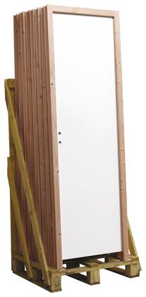 Porte int rieure bloc porte vitr e bois isolante - Porte en bois brico depot ...