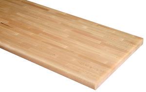 plan de travail h tre massif long 260 cm brico d p t. Black Bedroom Furniture Sets. Home Design Ideas