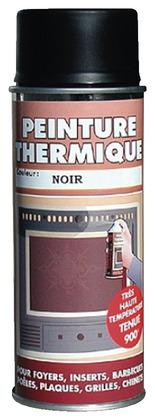 peinture thermique noire 400 ml brico d p t. Black Bedroom Furniture Sets. Home Design Ideas